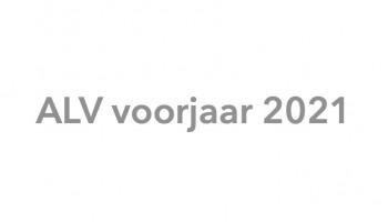 GEANNULEERD ALV 27 mei 2021