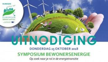 Symposium bewonersenergie